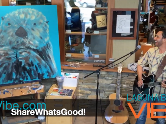 Wyland and Steven Cade fuse their artistry at Wyland's Studio Gallery.