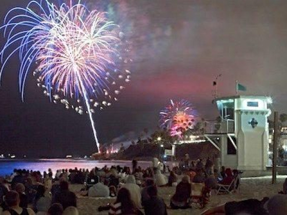 City of Laguna Beach Fourth of July Activities