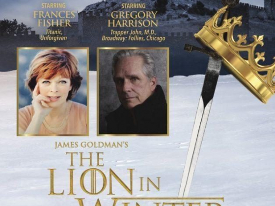 Frances Fisher & Gregory Harrison in The Lion in Winter